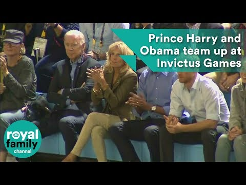 Prince Harry and Barack Obama team up at Invictus Games