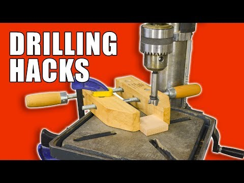 5 Quick Drilling Hacks Part 2 – Woodworking Tips and Tricks