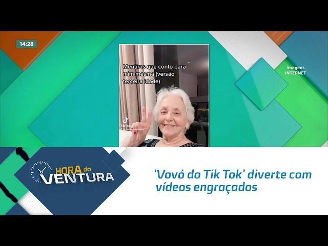 'Vovó do Tik Tok' diverte com vídeos engraçados sobre a rotina