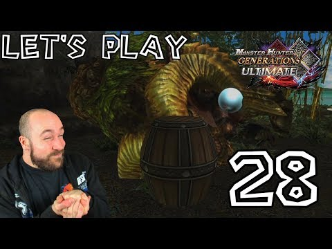 Let's Play Monster Hunter Generations Ultimate - #28: Zinogre, Capture Duramboros et torse Basarios thumbnail