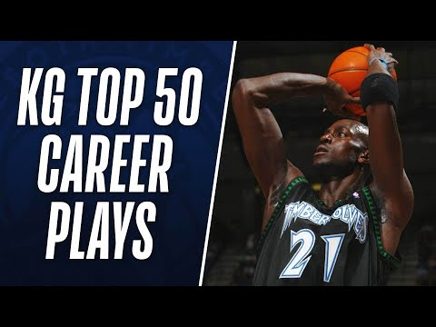 Kevin Garnett's Top 50 Plays of His Career