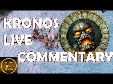 Age of Mythology LIVE Commentary Game 1 KeeN Flame Kronos