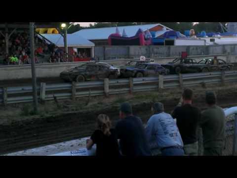 Lake Odessa Heat Race #2 round 2 Part 1 2016