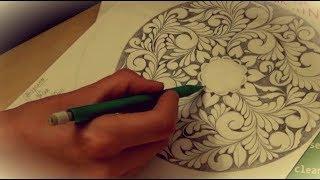 Как создается рисунок - кудринка (весь творческий процесс).