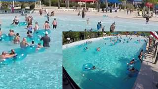 Lifeguard Rescue: Example of clearing the pool after guest has a seizure