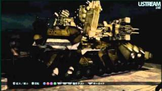 Armored Core V (アーマード・コア 5 ) LIVE Extended 2 Demo May 26 (pt 4)