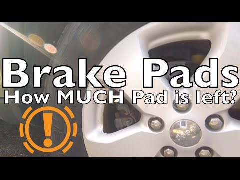 How To Check Brake Pads - How Much ▁ ▂ ▅ Is Left?