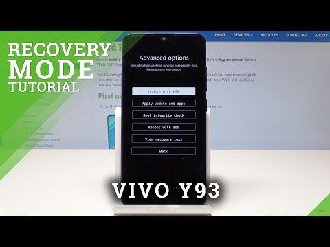 Recovery Mode VIVO Y93 - HardReset info