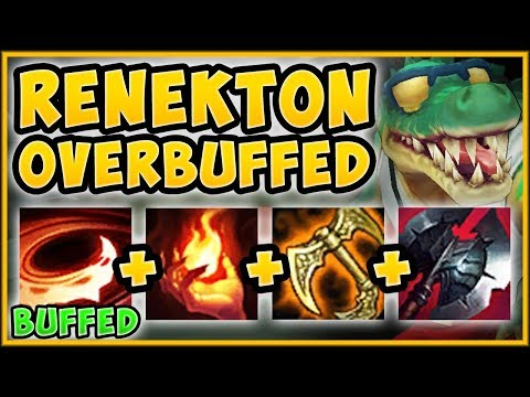 NEW RENEKTON BUFFS?? SRO VS HASHINSHIN! BUFFED RENEKTON SEASON 9 TOP GAMEPLAY! League of Legends