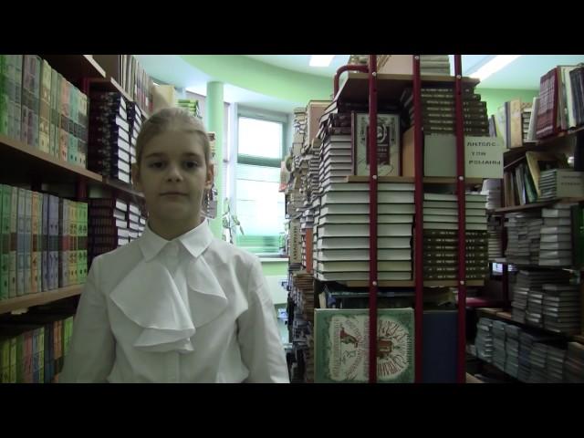 Изображение предпросмотра прочтения – РанчичМария читает произведение «Ворона и Лисица» И.А.Крылова
