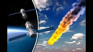 Tiangong-1 Will the free falling 8.5 ton Chinese space station crash into lower Michigan