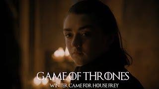Game of Thrones 7x01 Arya Stark -
