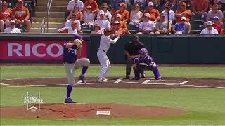 Texas Baseball vs TCU Game 3 LHN Highlights [May 19, 2018]