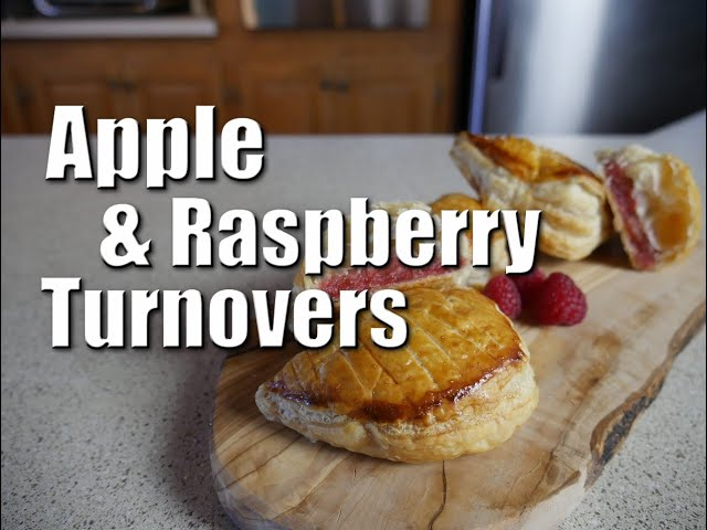 Apple & Raspberry Turnovers   Baking With ChefJohnReed