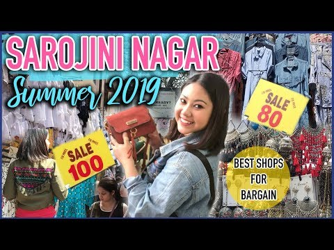 Sarojini Nagar SUMMER 2019 Collection For Girls | Rs.80 Tops, Jewellery, Kurti, Bags |ThatQuirkyMiss
