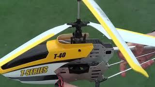 обзор радиоуправляемого вертолета Т 40 или MJX Shuttle T640C с видеокамерой