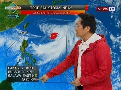 BT: Weather update as of 12:01 p.m. (July 19, 2018)
