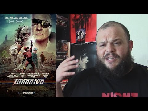 Turbo Kid (2015) movie review sci-fi action adventure