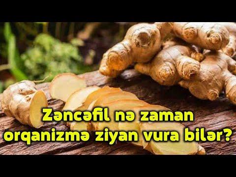 Zəncəfil nə zaman orqanizmə ziyan vura bilər?