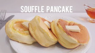 Perfect Fluffy Souffle Pancake Recipe | Home baking ASMR