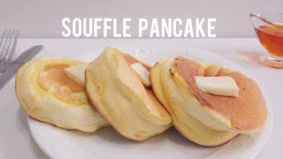 Perfect Fluffy Souffle Pancake Recipe | Home baking ASMR