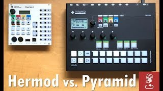 Review - Pyramid vs. Hermod: Powerful Squarp sequencers explored