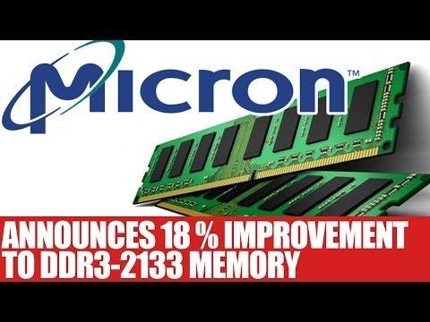 Micron Announces 18 Percent Improvement to DDR3-2133 Memory Via tFAW - Info & Analysis
