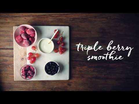 Vitamix Triple Berry Smoothie