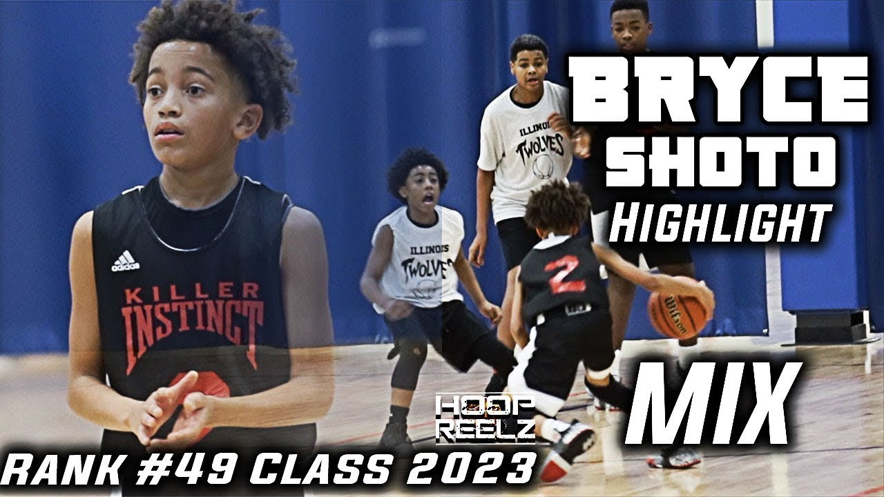BRYCE SHOTO KILLER INSTINCT PLAYING UP 14U l RANKED PG #49 IN THE COUNTRY  C/O 2023 HIGHLIGHT MIX!