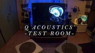 Q ACOUSTICS ROOM TEST
