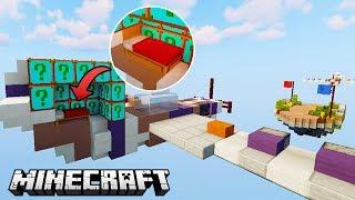 DUITSE LUCKY BLOCK VLIEGTUIG BEDWARS 1 vs 1 - Minecraft Mod Challenge
