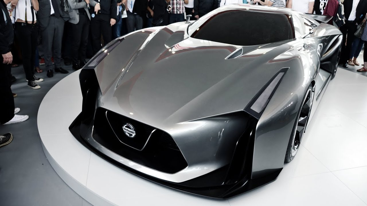 Nissan Concept 2020 Vision Granturismo Global Unveiling Youtube