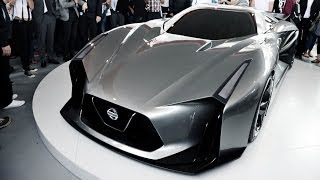 Nissan Concept 2020 Vision GranTurismo - Global Unveiling at Goodwood Festival of Speed