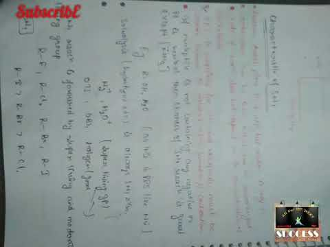 Organic Chemistry Handwritten Notes pdf download  Alkyl and aryl halide    check link in description