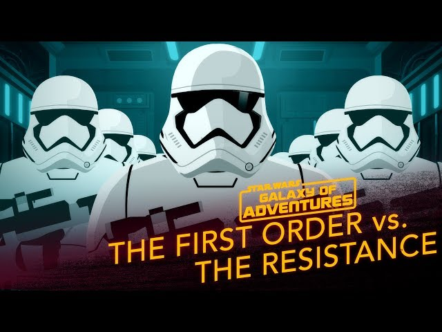 The First Order vs. The Resistance | Star Wars Galaxy of Adventures