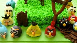 Video Angry Birds Birthday Party! ~ Playable Cake ~ Cake Pops ~ Sheet Cake ~ Decorations download MP3, 3GP, MP4, WEBM, AVI, FLV Agustus 2018