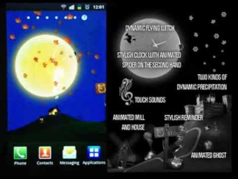 Halloween 3D Live Wallpaper 1 0 Apk Download - com lwpforge