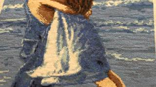 Вышивка крестиком.Обзор китайских вышивок с нанесенным на канву рисунком