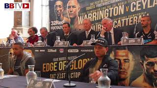 ZELFA BARRETT - CHRIS CONWELL PRESS CONFERENCE - ENGLISH TITLE FIGHT
