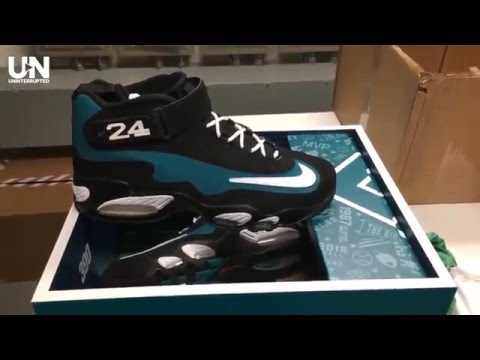 separation shoes de777 bc8c4 LeBron James Gets Special Gift from Ken Griffey Jr. - YouTube