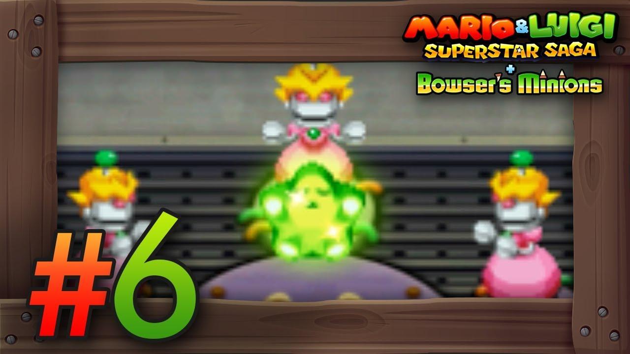 Mario Luigi Superstar Saga Bowser S Minions Walkthrough Part 6