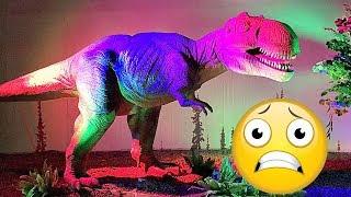 ДИНОПАРК в МОСКВЕ Dinopark Good Boy Mark боится динозавров!