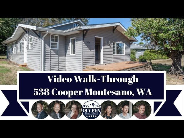 538 Cooper | Montesano, WA | Video Walk-Through