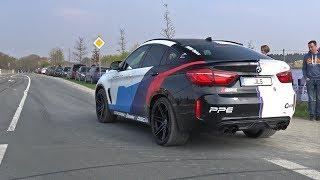 BMW X6M w/ LOUD Akrapovic Exhaust! Pops and Bangs!