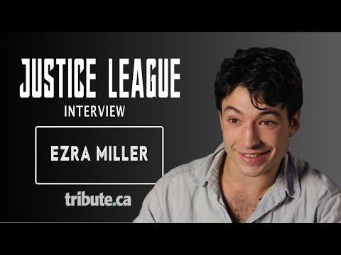Ezra Miller - Justice League Interview