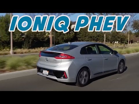 2018 Hyundai Ioniq Plug-In Hybrid Electric Vehicle