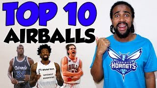 TOP 10 PIORES AIR BALL'S DA NBA