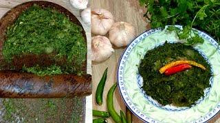 ধনিয়া পাতার মজাদার ভর্তা  Best Coriander leaves Vorta  Bangladeshi Yummy Dhonia Pata Vorta Recipe