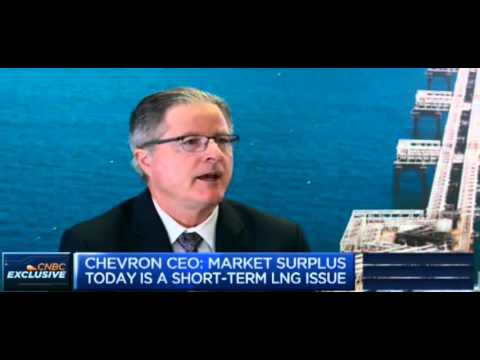 Chairman and CEO John Watson discusses LNG market on CNBC
