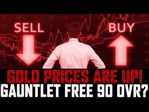 Market Monday | GOLD PRICES ARE WAY UP! | FREE 90 OVERALL FROM GAUNTLET? | Madden 18 Ultimate Team